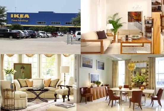 Ikea modern home furniture shop