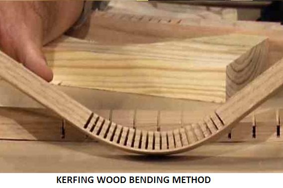 Wood Bending by Chemical Softening