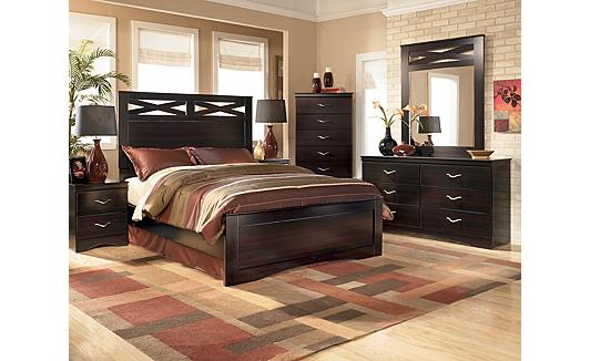 Martini Suite Storage Bedroom Set of Ashley Furniture