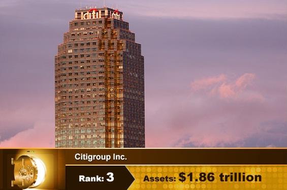 Top 10 USA Banks Citigroup Inc
