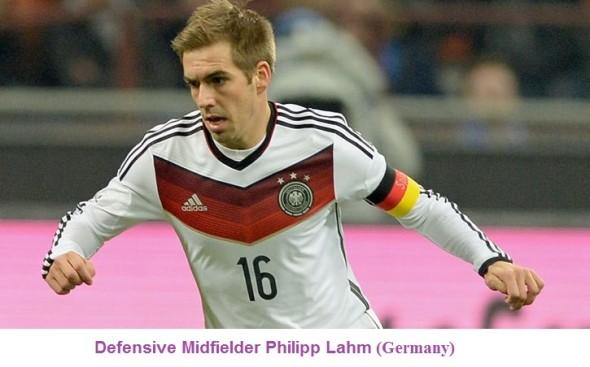 Defensive Midfielder Philipp Lahm (Germany ) of Top 10 Footballers of Present Time
