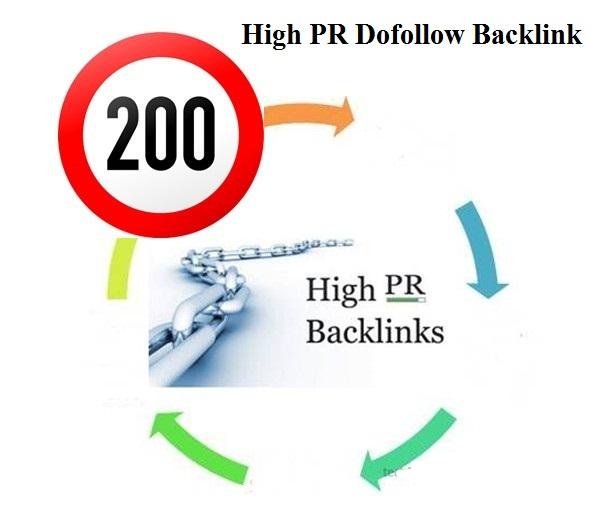 top high pr back link