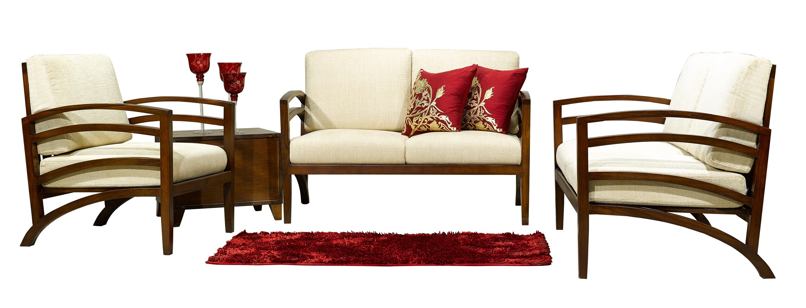 PACO DESIGN EXCLUSIVE SOFA SET - DANISH SOFA SET-SLIM DESIGN