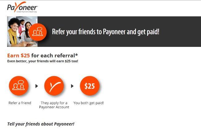 Payoneer referral