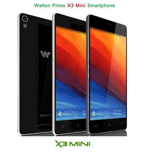Walton Primo X3 Mini Smartphone
