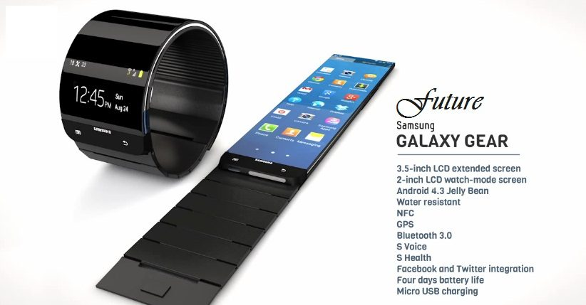 Future Samsung Galaxy Gear Wrist Watch