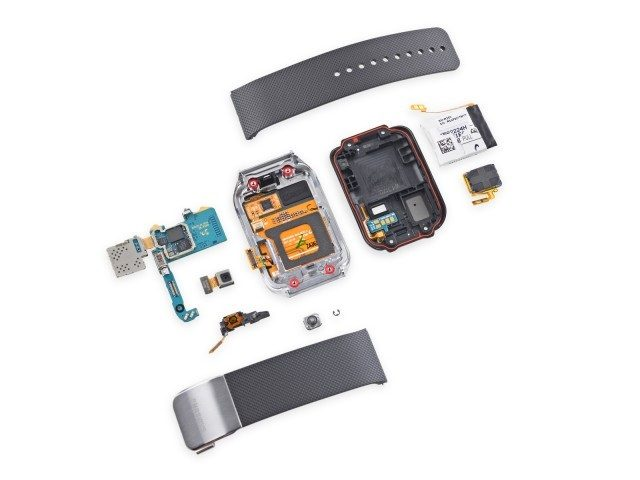 Inside of Samsung Galaxy Gear