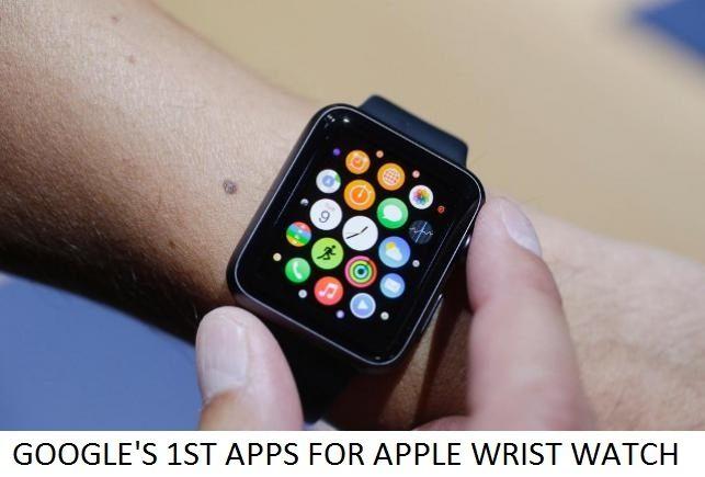 1st apps for apple wrist watch