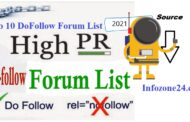 Top 10 Dofollow Forum List 2021 To Improve Page Ranking