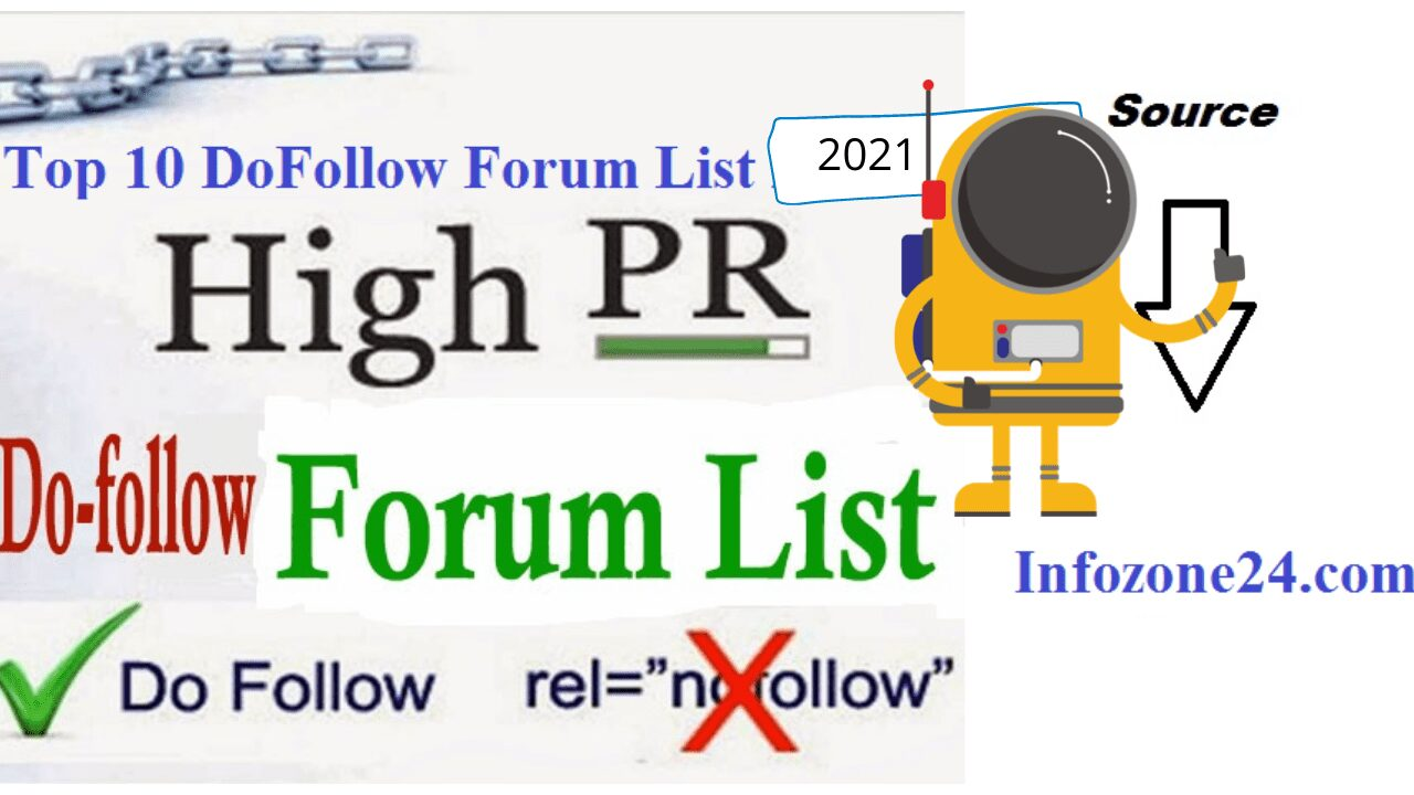 Top 10 DoFollow Forum List 2021