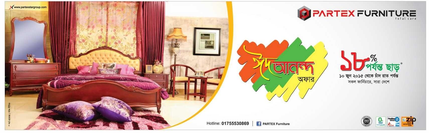 Partex Furniture Offer 18Percent