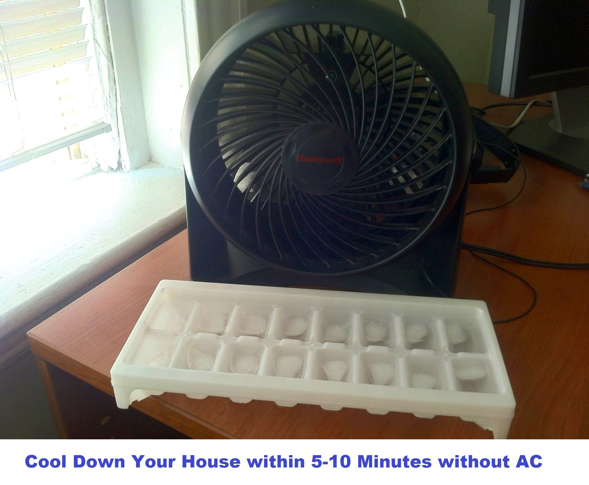 cool down a house without AC