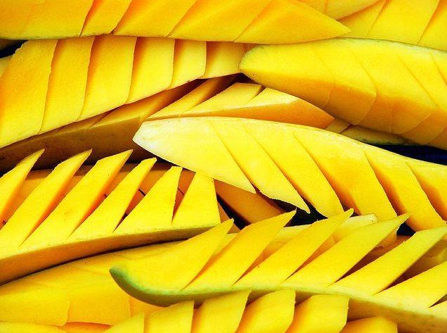 Another Amazing Style of Mango Cutting
