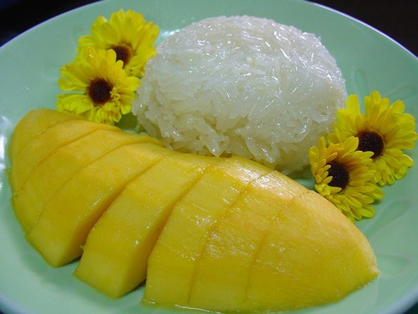 mango with Rice