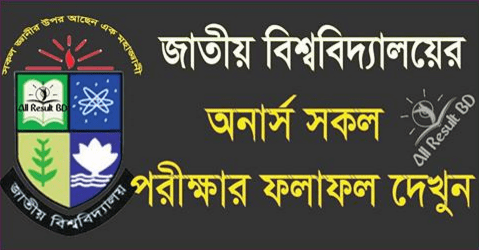National University Honors 1st Year Result 2015-2016