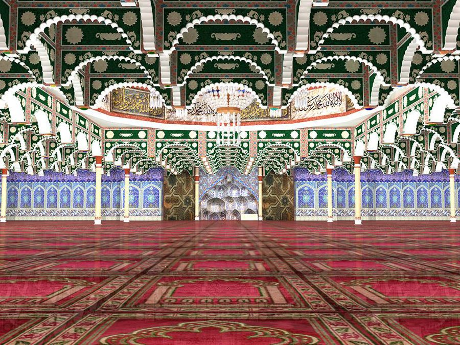 Inside of Mosque