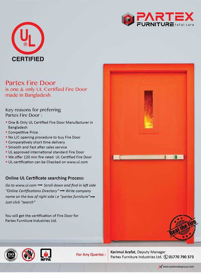 partex fire door