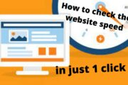 Page Speed Test: How to check the website speed in just 1 click