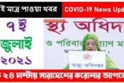 7 July 2021 Coronavirus News Update Today India & Bangladesh