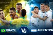 Copa America Genius Argentina vs Brazil Final 2021