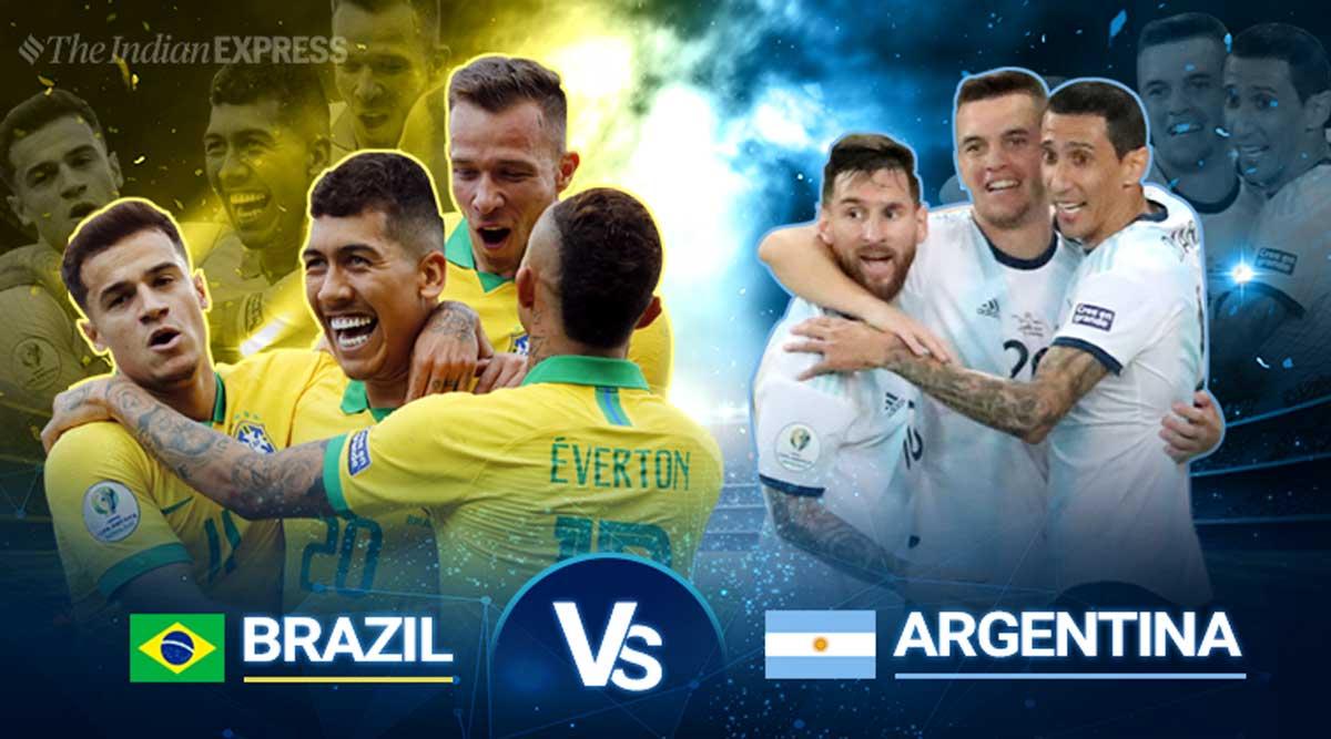 Copa America Argentina vs Brazil Final 2021