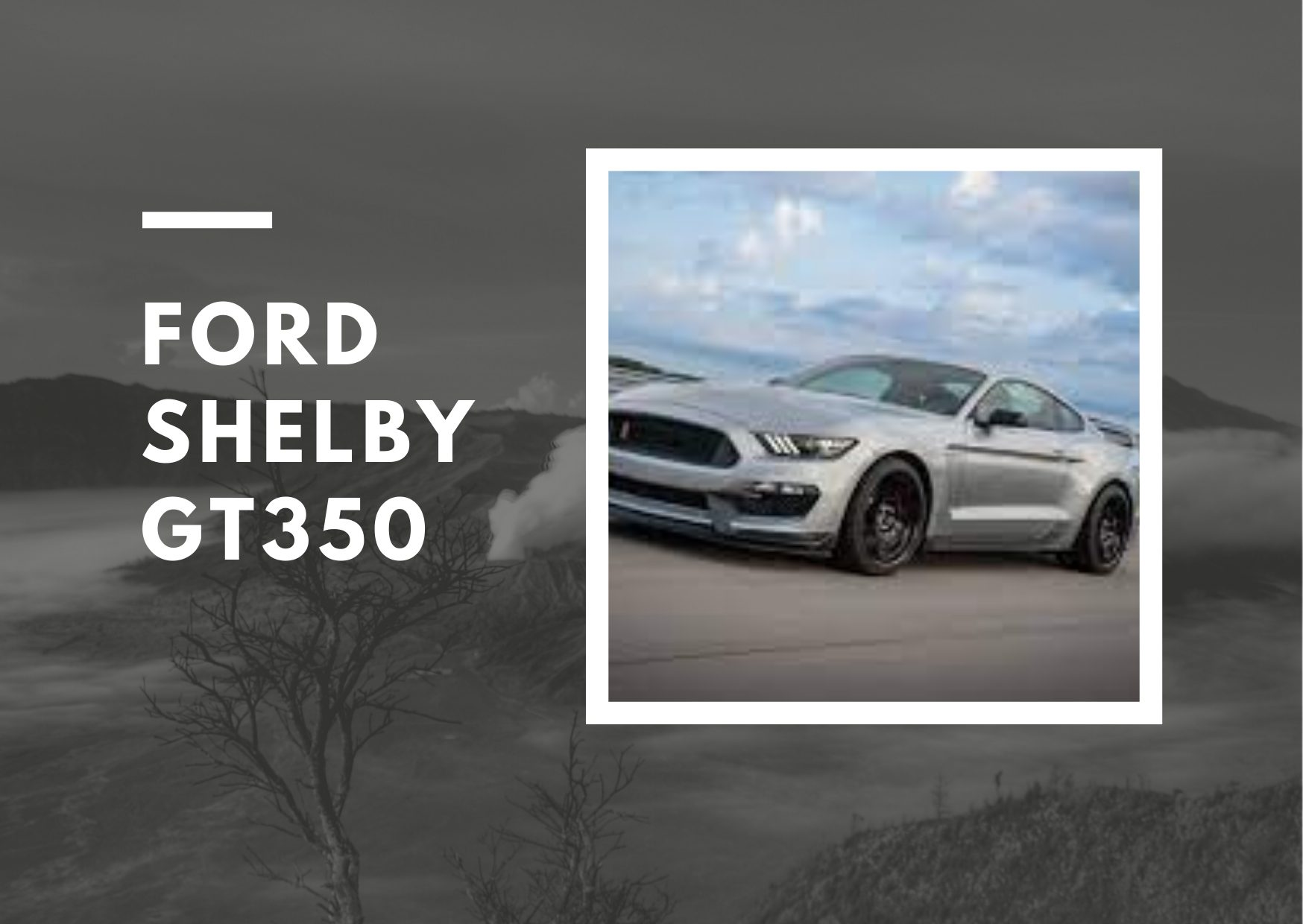 Fastest Car in the USA - Ford Shelby GT350